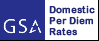 U.S. General Service Administration Domestic Per Diem Rates